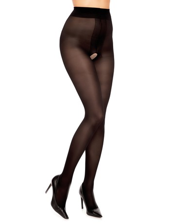 Glamory Ouvert 40 tights black