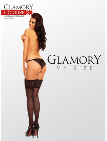 Glamory Couture 20 Back Seamed Hold-Ups