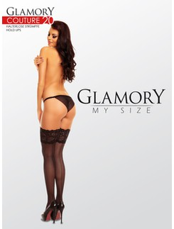 Glamory Couture 20 seamed sheer Hold ups