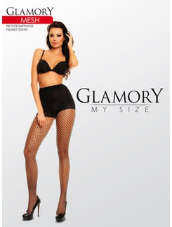 Glamory My Size Mesh Fishnet tights