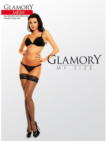 Glamory Mesh Fishnet Hold-Ups