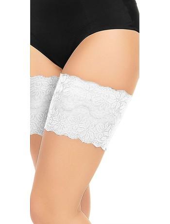 Glamory Anti-Chaffing thigh bands white