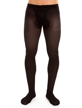 Glamory for Men Support 40 Tights black