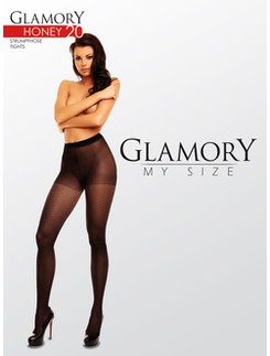 Glamory Honey 20 patterend Tights