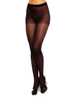 Glamory Honey 20 Patterned Plus Size Tights