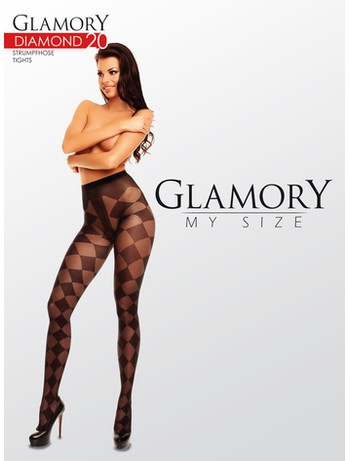 Glamory Diamond 20 Plus Size Tights