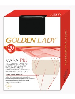 Golden Lady Mara Pui 20 Tights XXL Oversize