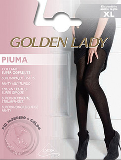 Golden Lady Opaque Tights Piuma