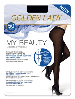 Golden Lady My Beauty 50 seamless tights