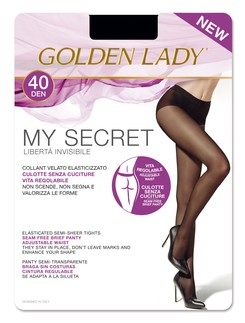 Golden Lady My Secret 40 Seamless Opaque Tights