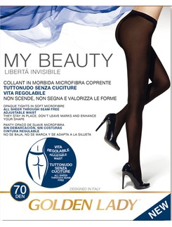 Golden Lady My Beauty 70 tights