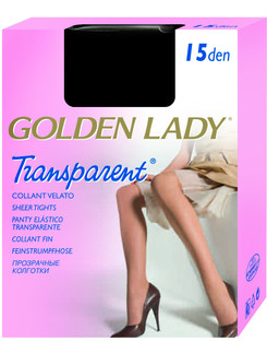 Golden Lady Transparent 15 glossy Tights