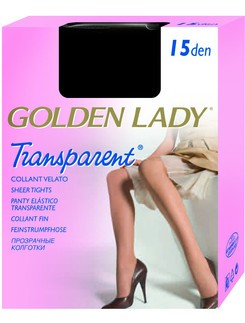 Golden Lady Transparent 15 Light Tights