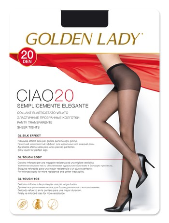 Golden Lady Ciao 20 Tights
