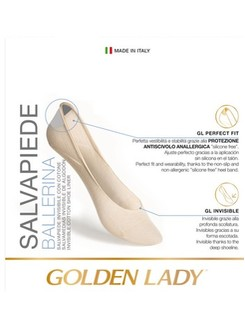 Golden Lady Salvapiede Ballerina Footies Double Pack