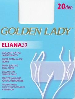 Golden Lady Eliana 20 transparent Plus Size Tights