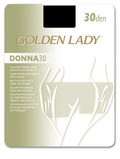 Golden Lady Donna 30 Queensize Tights