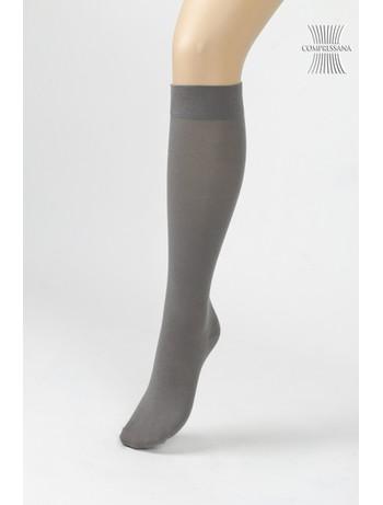 Compressana Cotton Medium Support Knee High Socks graphit