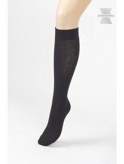 Compressana Cotton Medium Support Knee High Socks