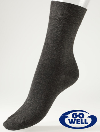 Compressana Go Well Med X-Static Special Socks silvergrey