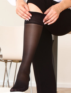 Compressana Calypso 40 Support Light Knee-Highs Double Pack