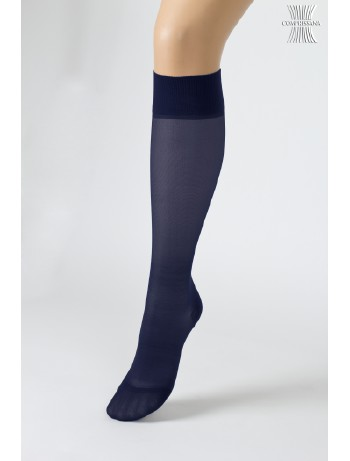 Compressana Calypso 70 Medium Compress Knee High Socks nightblue