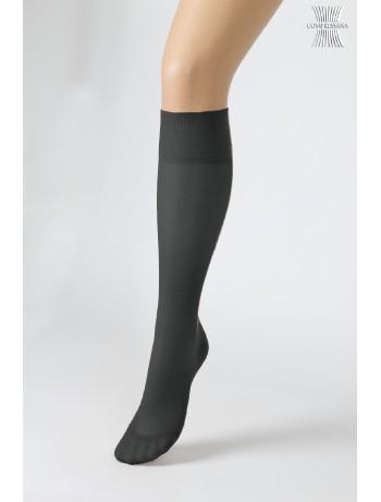 Compressana Calypso 70 Medium Support Knee-Highs black