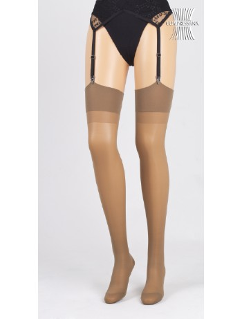 Compressana Calypso 70 Suspender Stocking pearl