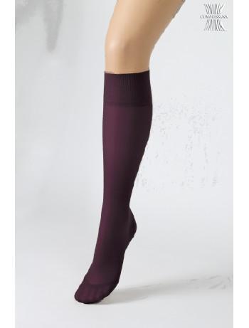 Compressana Calypso Knee High Socks violet