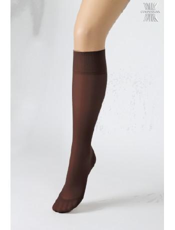 Compressana Calypso Knee High Socks aubergine