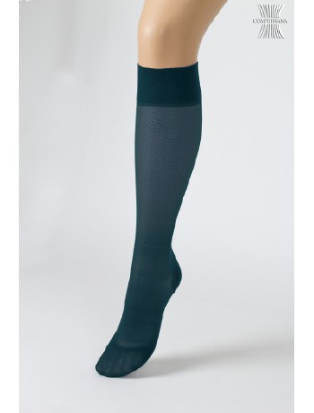 Compressana Calypso Knee High Socks petrol