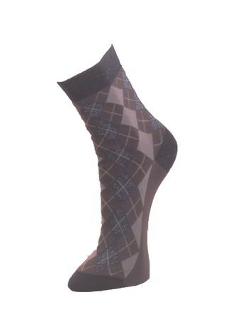 Giulia Argyle Cotton Socks iron