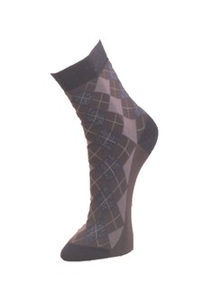 Giulia Argyle Cotton Socks