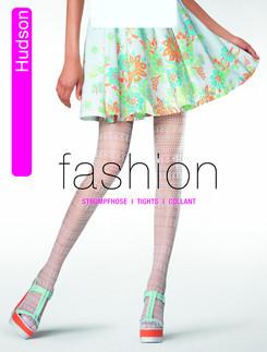 Hudson Crochet Net Tights