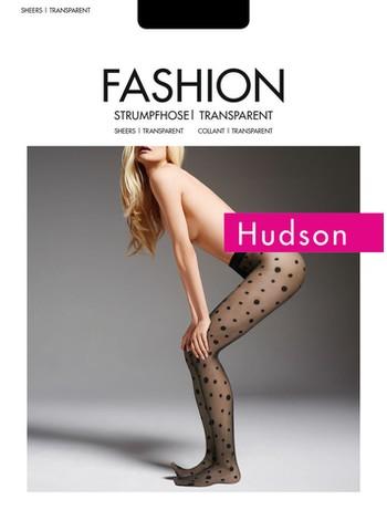 Hudson Dots Transparent Tight 20den Woman