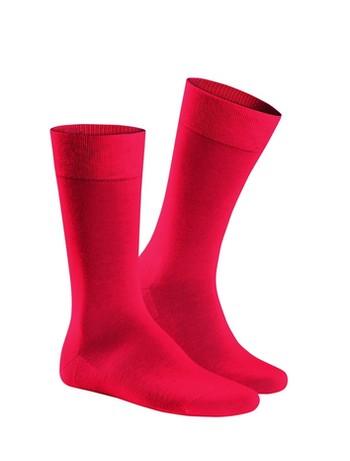 Hudson Relax Cotton Socks Red Salsa