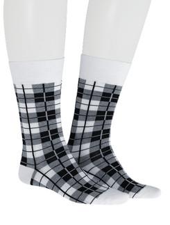 Hudson Sporty Checks Men's  Socks
