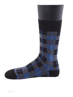 Hudson Sporty Checkered Men's Socks