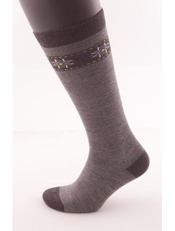 Hudson Kids Fashion Cozy Norwegian Knee High Socks platinum
