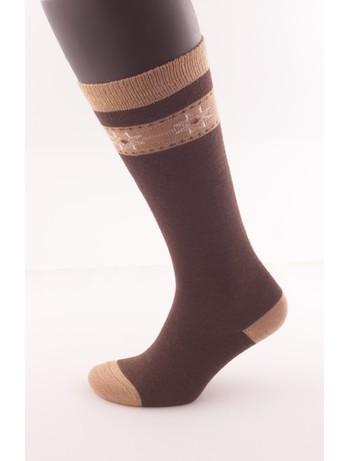 Hudson Kids Fashion Cozy Norwegian Knee High Socks dark-hazel
