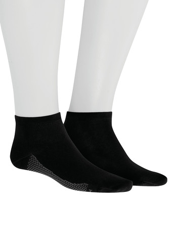 Hudson Relax Dry Cotton Men's Sneaker Socks black