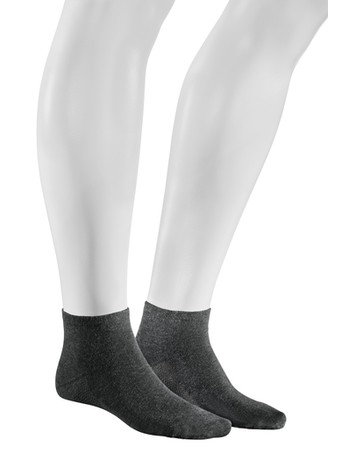 Hudson Relax Dry Cotton Men's Sneaker Socks grey tinged