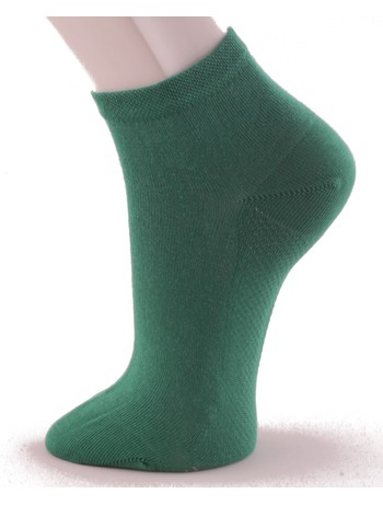 Hudson Relax Dry Cotton Men's Sneaker Socks green-glass