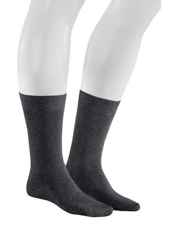 Hudson Relax Dry Cotton  Socks for Men grey tinged