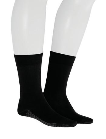 Hudson Relax Dry Cotton  Socks for Men black