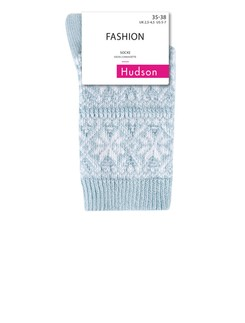 Hudson Modern Norway Knit Socks