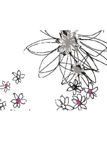 Hudson Flowers For You Socks offwhite
