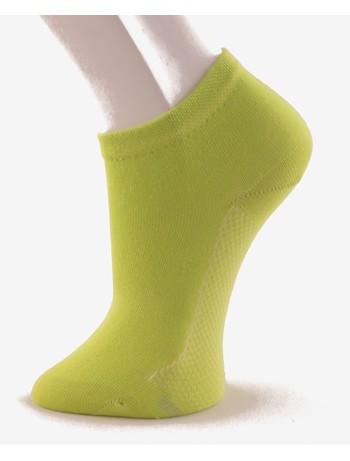 Hudson Relax Cotton Dry Women's Sneaker Socks green-lemon