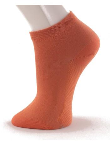 Hudson Relax Cotton Dry Women's Sneaker Socks tangerine