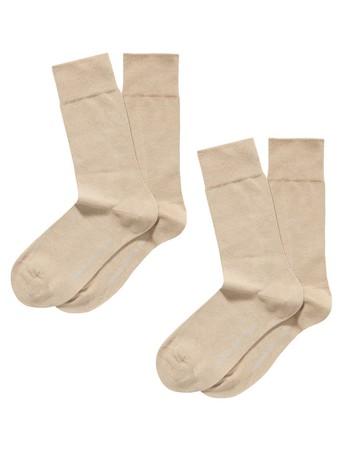 Hudson Only Men's  Socks Double Pack sisal